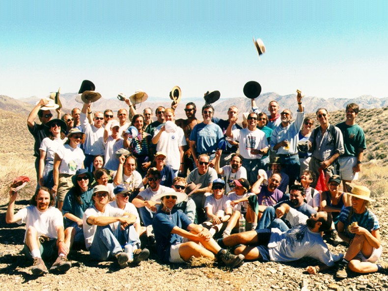 Our first ever Faculty/Staff/Alumni/Student field trip (1997).