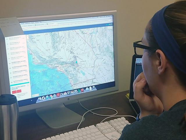 Analyzing an earthquake aftershock sequence on the USGS earthquake catalog.